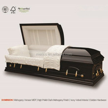 DOMINION china caskets wholesale coffin beds