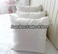 Duck feather filled backrest floor cushion for cheap sale