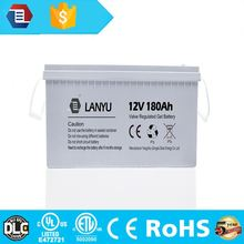 deep cycle battery 12v catalogue 50ah 100ah 155ah 180ah front terminal full gel lead acid battery