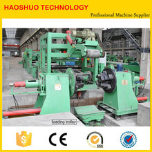 High Quality High Speed HR CR GI SS Steel Coil Leveling and Cut to Length Machine