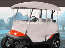 Plastic golf cart full cover universal /golf cart full cover 4 person made in China with free samples