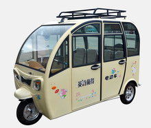Strong engine 6 people motorcycle rickshaw tricycle with 1000w motor
