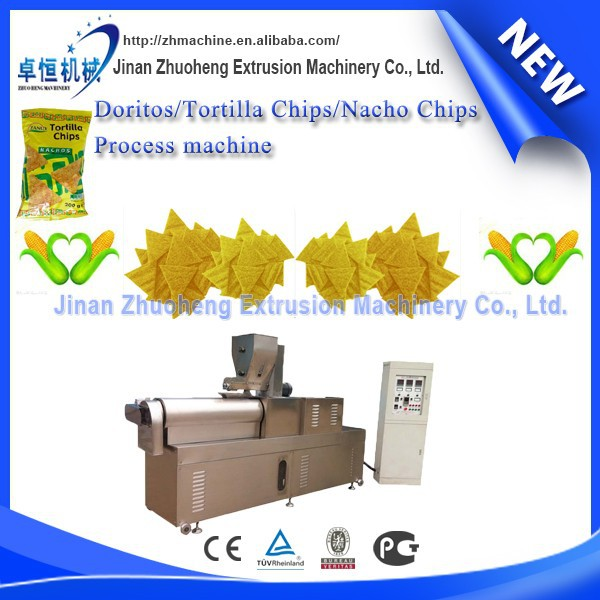 Corn Tortilla Snacks Food Making Machine
