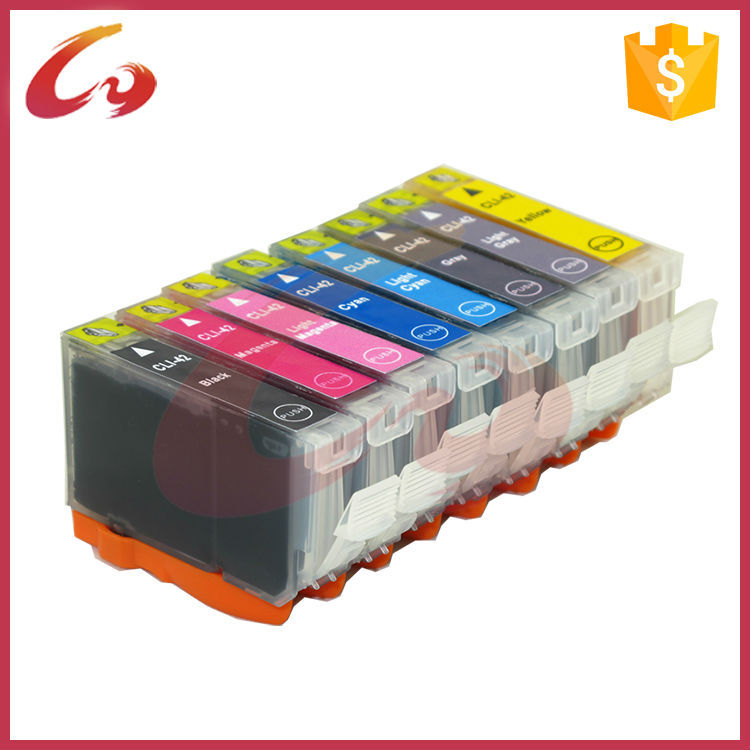 Compatible for canon cartridge CLI-42 printer ink cartridge for PIXMA Pro100