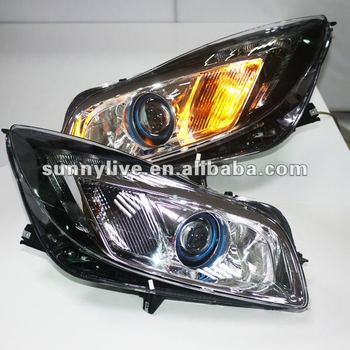 for buick regal verano opel insignia led head light 2010. Black Bedroom Furniture Sets. Home Design Ideas