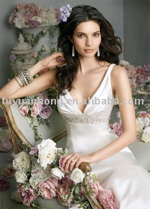 2010 new style wedding gown /FYH-WD00334