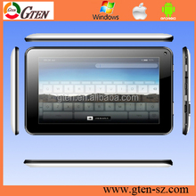 7inch Dual core ultrathin 3G GPS all functions smart pad 7inch tablet pc android mid