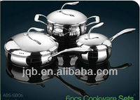 Cookware stainless steel/Apple shape Cooking pot