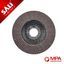 T27 depressed metal polishing 7'' 80 grit super thin flap disc