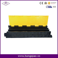 2/3/5 Channel Yellow and Black pvc cable protector