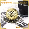 China OEM factory customize 24k gold golf ball with your brand logo