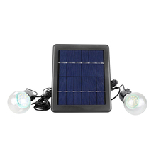 Free Shipping SL-40B 2.4W LED Solar Lights Protection Type Level Two Solar Bulb Lights