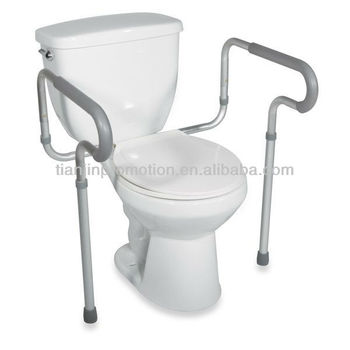 Drive Adjustable Toilet Safety Rail