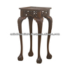 Mahogany Classic Chippendale Plant Stand