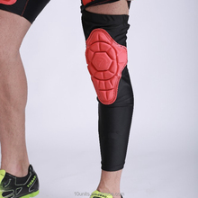 Compression elastic padding arm knee sleeves Basketball Knee pads protection sports safety gear
