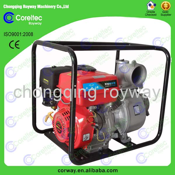 OHV 4 stroke single cylinder recoil start air-cooled 1 inch gasoline engine water pump