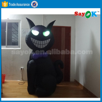 halloween inflatable cat with led decoration halloween inflatable props china inflatable model
