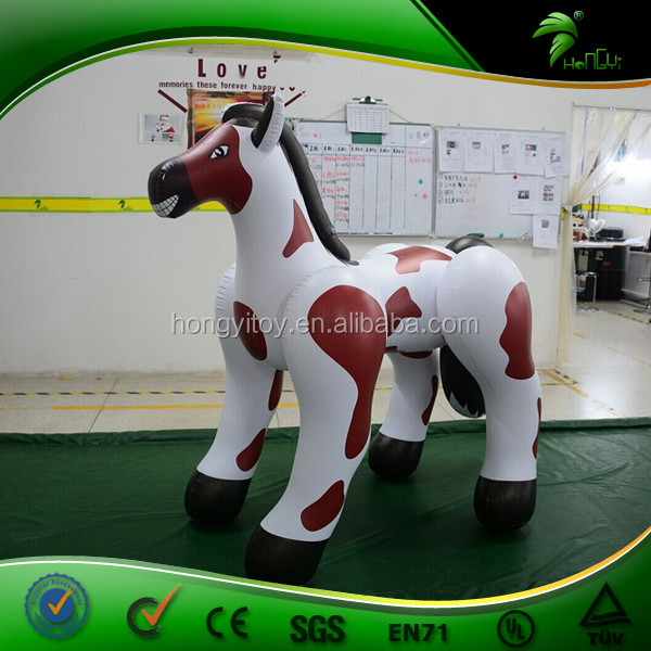 Spot Ride On Inflatable Hongyi Toy Horse