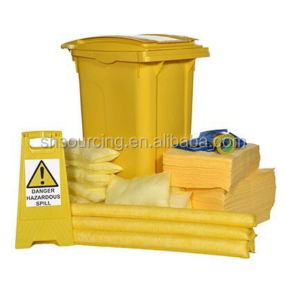 240 Ltr spill kit Chemical absorbent Wheeled Oil Spill Kit