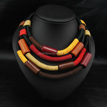 tibet tribal jewellery collares de acero