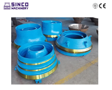 Metso Symons cone crusher spare parts bowl liner,concave and mantle