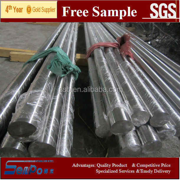 high quality AISI304 / 1.4301 stainless steel round bar for South America market