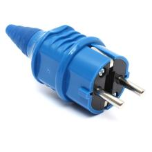 High Quality CF10838 16Amp Waterproof 2 Pin Plug IP44 230 Volts Nylon Industrial socket 2 Phase New
