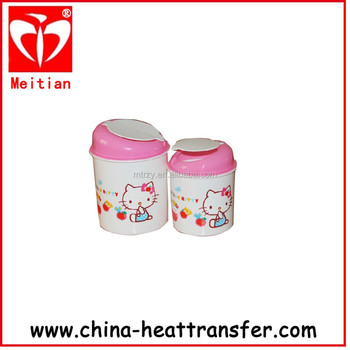 heat transfer film for basket with strong adhesive