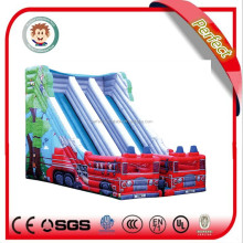 China manufacturer commercial used large spongebob inflatable water slide