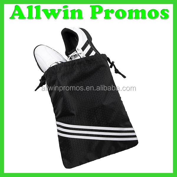 High Quality Promotional Satin Cute Strong Drawstring Shoe Bag