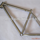 new design titanium MTB bike frame custom mtb bicycle frame high quality mountain bike frame