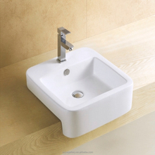 Foshan Sanitary Ware Square Ceramic Sink for Bathroom