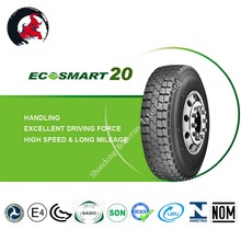 Tires 295 with increased loading capacity and wear resistance for Malaysia