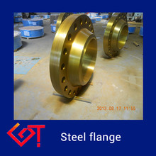 round chrome flange