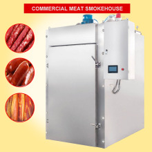 automatic electric industrial cold fish meat for heating making sausages smoker Smokehouse oven house machine mechanical on sale