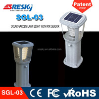 Powerful Solar New Led Garden Lighting Outdoor Lamp