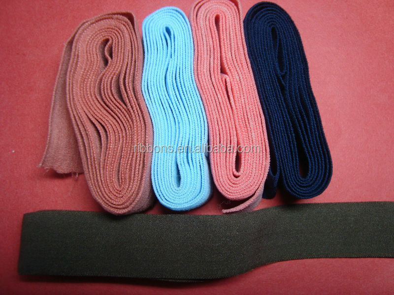 Good quality cotton webbing for bags elastic webbing garment accessories