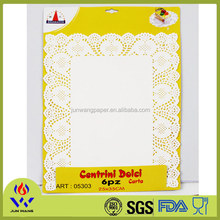 Greaseproof paper tray mat non-slip paper tray mat