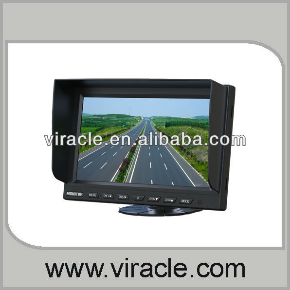 2013 best quality New Design 9 inches quad split car monitor