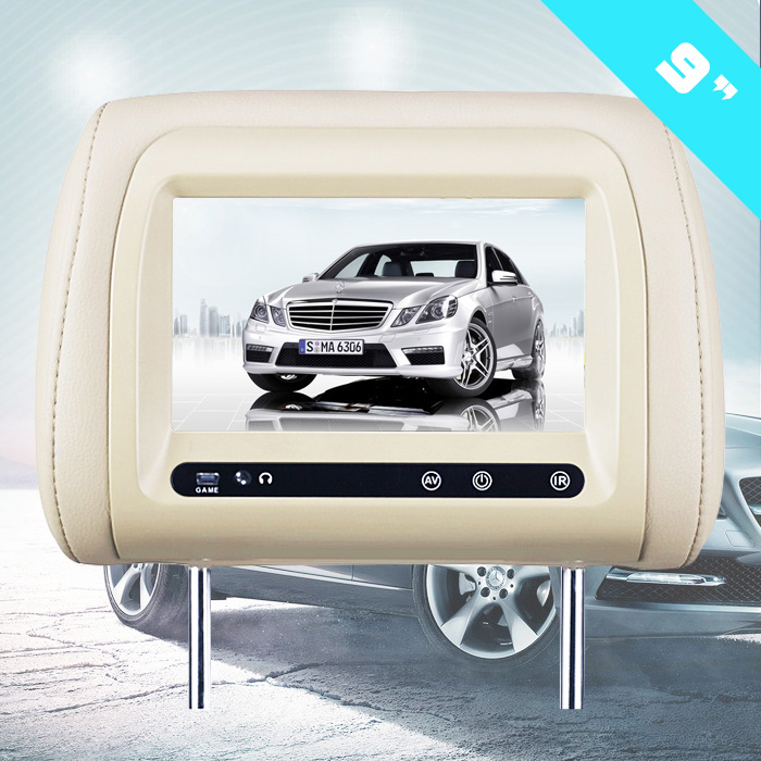 "9"" Headrest Car Taxi Android LCD Advertising Digital Signage Player"