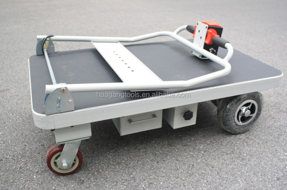 Hg 101 heavy duty electric hand truck dolly buy hand for Motorized hand truck dolly