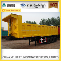hot sale! big factory tipper Semi trailer tent and sale in china for exportation