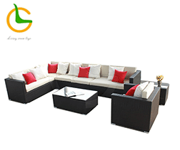 2015 New Model Rattan Patio Sofa Cheap Rattan Round Sofa Sun Bed Beach,Chaise,Recliner Chairs Outdoor furniture Daybed