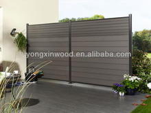 WPC Factory wpc fence/wpc panel/wooden fence decor