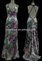 Nice printed trailing women party gambar sex dress chaozhou melody factory