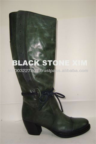 Fashion leather boots