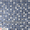 oval shape glass mosaic tile