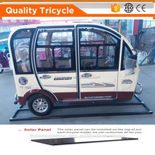 2016 new model fully enclosed electric tricycles/rickshaws/tuk