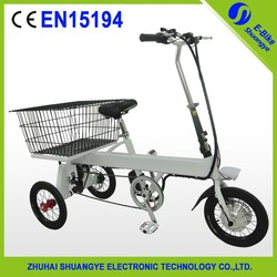 2015 new design 14' inch electric tricycle for adults