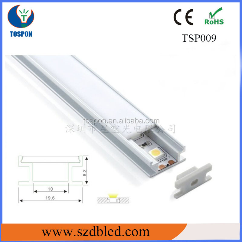 led profile aluminum/kitchen led/aluminum extrusion heat sink